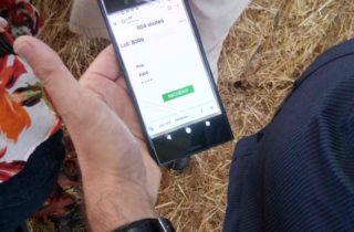 Achat par smartphone